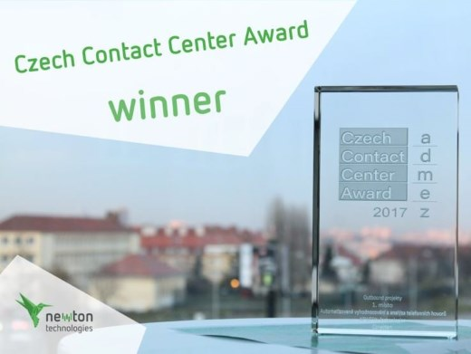 Czech Contact Center Award Winner